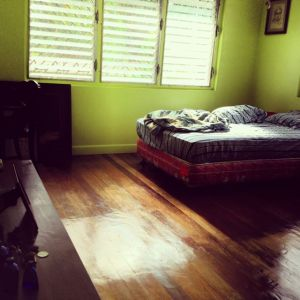 Everything I need is already in my room in Bacolod. I don't have to bring anything with me when I go. Just myself.