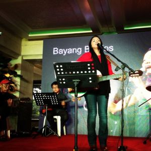 the stellar Bayang Barrios