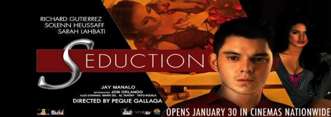 Prepare to be seduced. Seduction opens today (January 30, 2013) in cinemas nationwide
