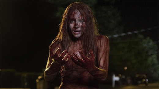 I wonder how many girls are going to go as Carrie for Halloween?