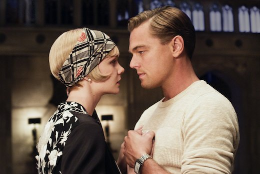 Carey Mulligan and Leonardo Di Caprio as Daisy Buchanan and Jay Gatsby -- brilliant performances!