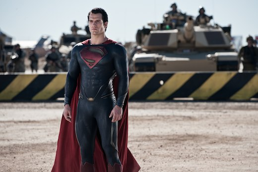 Henry Cavill IS Superman. Well, he's definitely super. (photo courtesy of Warner Bros.)