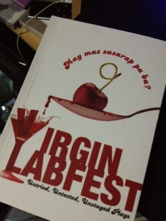 the program of this year's Virgin Labfest