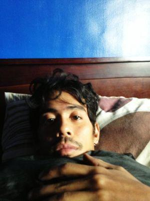 wanggo sick selfie