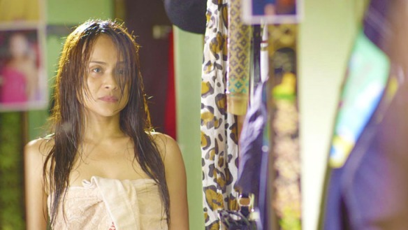 Mimi Juareza is magnificent in Quick Change (photo taken from the Cinemalaya website)