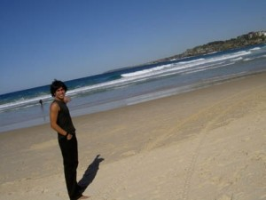 My trip to Bondi beach in Sydney, sometime around 2005