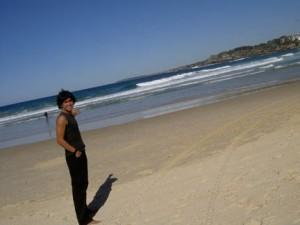 My trip to Bondi beach in Sydney, sometime around 2005