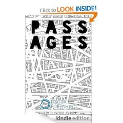 Passages, cover design by  A D Warr, published by Dagda Publishing (photo taken from Amazon.com)