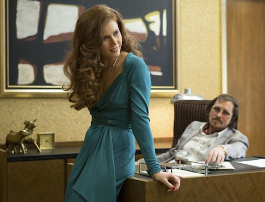 The incomparable Amy Adams, strutting her stuff (and then some) in the amazing American Hustle