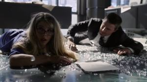 Felicity Smoak (played by Emily Bett Rickards) is the bomb. She's really the heart and soul of the team.