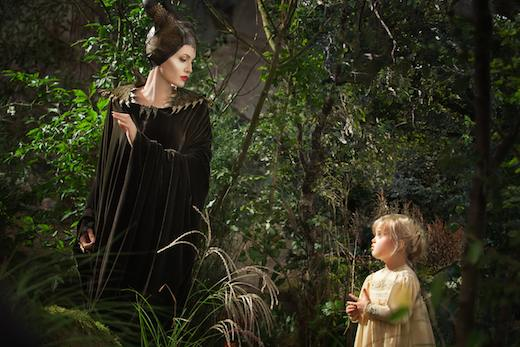 Maleficent the magnificent? Angelina Jolie is Maleficent down to the cheek bones.