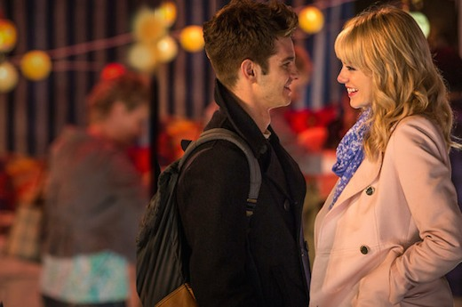 I don't know who I am crushing on more, Emma Stone or Andrew Garfield? They are both just so amazing. AMAZING!