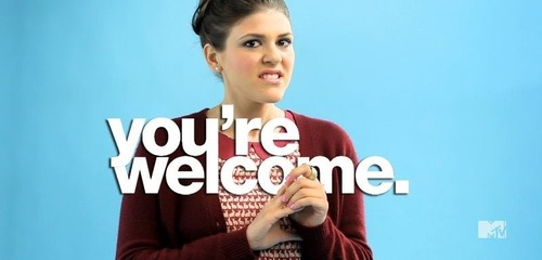 Thank you, Sadie (Molly Tarlov) for making watching Awkward season 4 almost bearable.