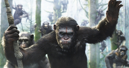 Andy Serkis (and the CG team of the film) as Caesar in Dawn of the Planet of the Apes