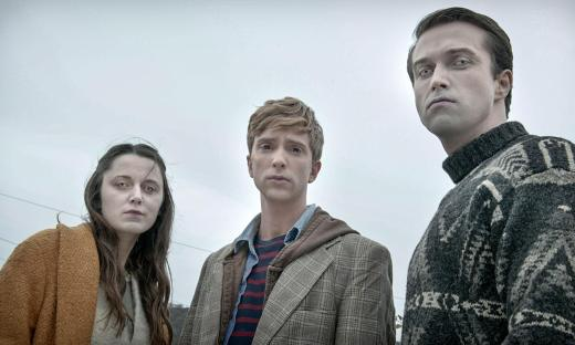 Amy, Kieren, and Simon proving that death can be very becoming and there's life after death