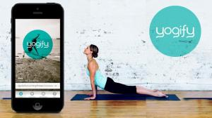 In lieu of not being able to go to the studio to practice yoga, Yogify is satisfying my need for yoga