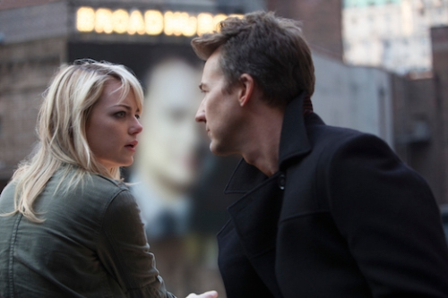Emma Stone and Edward Norton are electrifying in the superb Birdman