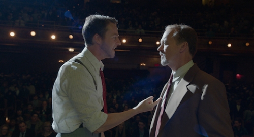 Birdman's Edward Norton and Michael Keaton acting up a storm in what I think is the best movie of 2014
