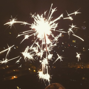 The sparks of the new year has finally lit up and I've a renewed sense of faith that I can make this year work out for me