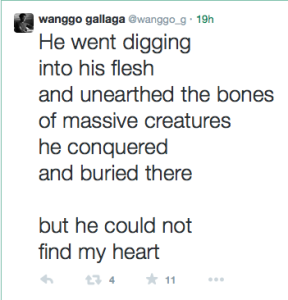 Twitter Poems: this is my version of going to the gym