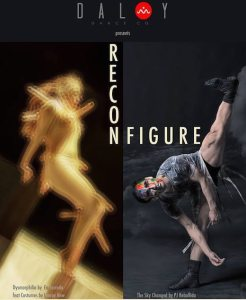 Reconfigure is twin-billed dance theater performance by Daloy Dance Company featuring Ea Torrado's Dysmorphilia and PJ Rebullida's The Sky Changed at DLSU College of St. Benilde Theater on February 19 and 22
