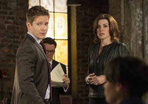 I want to see more of Cary (Matt Czuchry) and Alicia (Julianna Margulies) working together and being friends, that's what I want to see more on the show