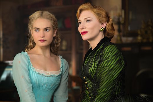 Lily James and Cate Blanchett are pitch perfect as Cinderella and Lady Tremaine, the wicked stepmother