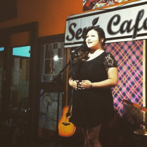 Louise Meets, my favourite poet in the Manila Spoken Word scene today, performing